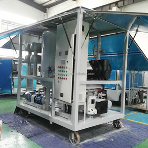 High VacuumTransformer Oil Filtering Machine/ Dielectric Oil/Insulation Oil Filtration System