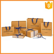 Fashionable Gift Wrapping Paper Bag For Jewelry Packaging Box