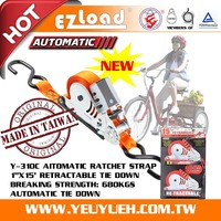 [EZ LOAD] Automatic Tricycle Ratchet Cargo Fasteners Lashing Straps