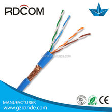 Utp/stp/ftp/sftp cat 5 cable apantallado cat5e cable lan 24awg cable blindado
