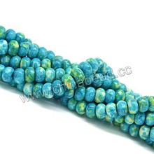 China supplier gem stone buyers, natural rain flower stone, semi-precious stone bead