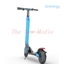 Long range 35km foldable smart e scooter 2 wheel kick scooter adult electric skateboard