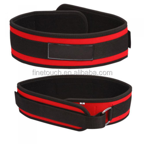 neoprene back support belt weightlifting exercise gym training support