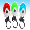 SH-081 UFO Style 5 LED Bicycle Tail Light (Green)(2xAAA)