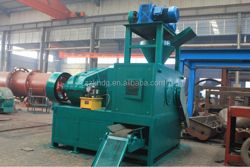 Quick lime powder briquetting making machine