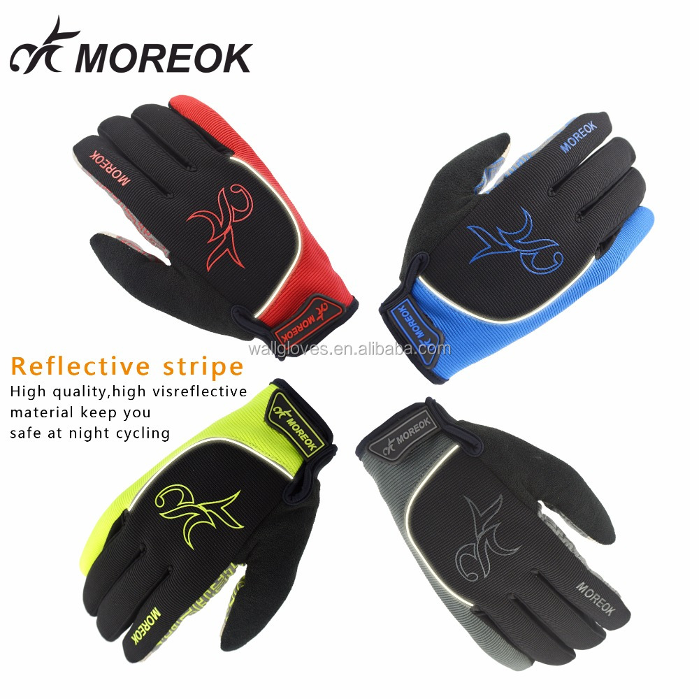 Winter Outdoor Ultra Light Breathable Lycra Biking Gloves & Anti-Slip <strong>Shock</strong> - Absorbing Silica Gel Grip , Mountain Road Gloves