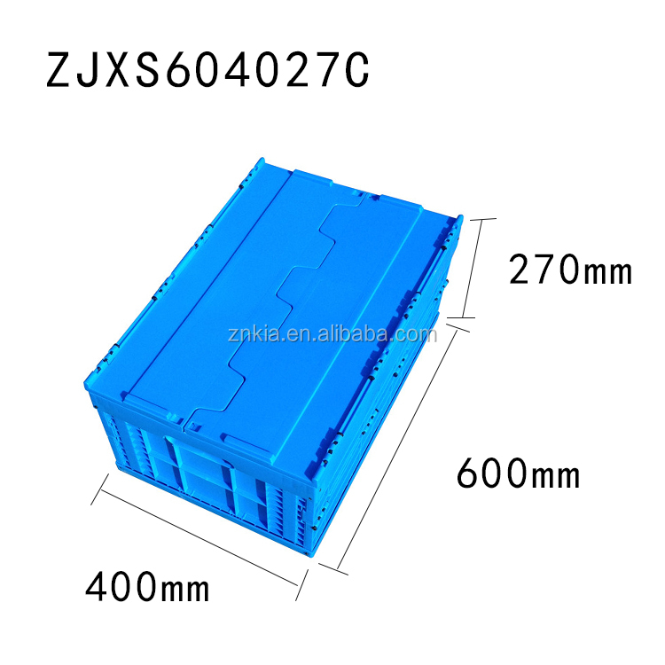 Storage folding plastic professional tool cases
