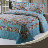Quilt carpet bedding set made in china