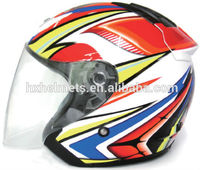 2015 New Designs popular sales open face helmet