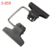 Double-ended swivel-mounted multi-function clip clamp studio accessory for background
