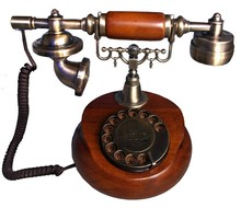 China culture corded retro antique phone supplied by cheeta factory