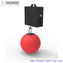 led lift ball , led kinetic lighting system , color led disco ball
