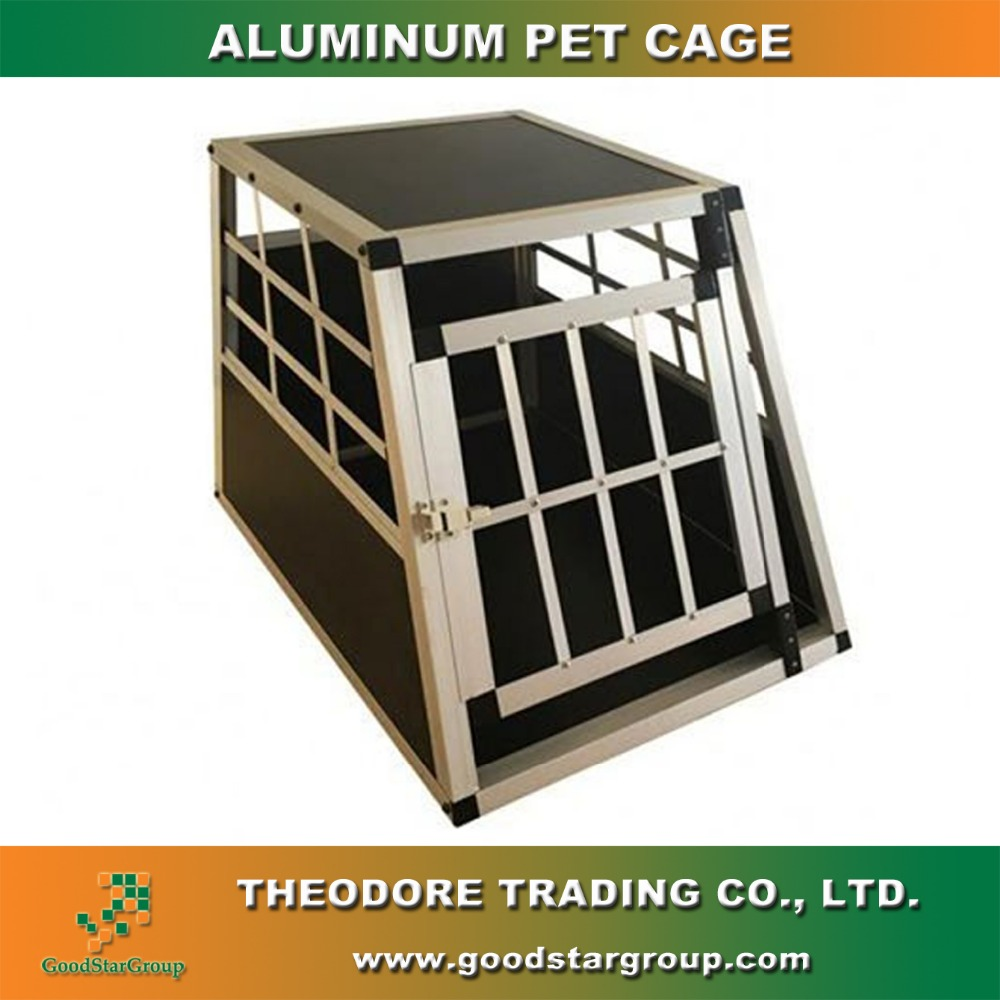 Aluminum pet cage single door animal house large animal house