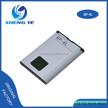 gb/t18287 2000 cell phone battery bp-4l li-ion battery 3.7v 1500mah for nokia E90 N97 E61i E71 E52 6760 slide