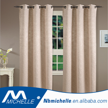 window curtain with embossed Home blackout curtain