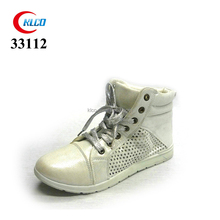 women low price casual plain white sneaker laces