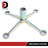 best price connector tension rod spider glass