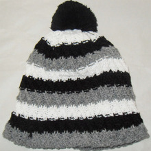 Crochet Winter Beanie Thicker Hat Various Colors Custom Winter Warm Sports Caps with Fleece Lining