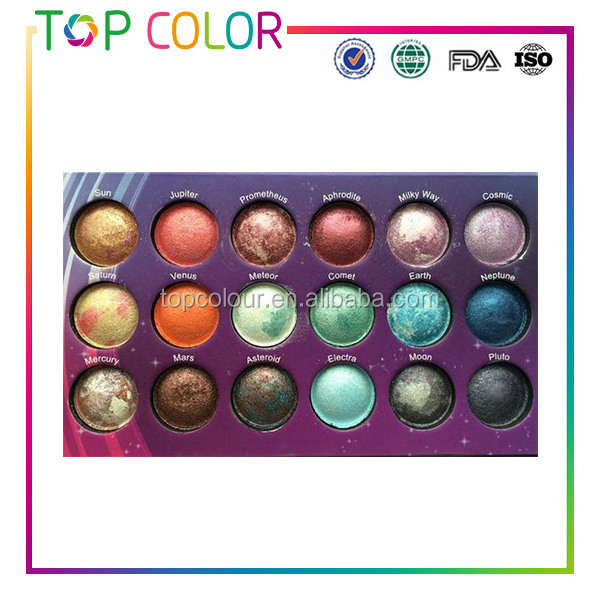 EH1046 Make up cosmetics pallet wholesale highlighter powder OEM eyeshadow