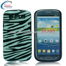 animal zebra design case for S3/4 cell mobile phone case