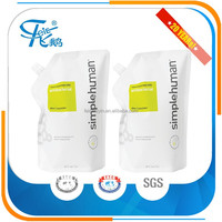 Stand Up Pouch Plastic Packaging Without