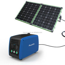 PowerOak 500w solar power generator with Electricity Supply 1500wh lithium battery