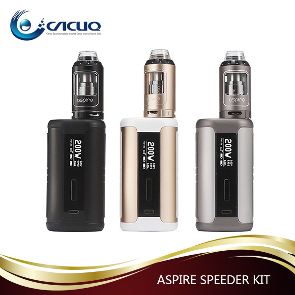 2017 hot trending products 4.0ml Aspire Speeder 200W Kit from Cacuq