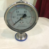 BBZ-Y-M series health diaphragm pressure gauge