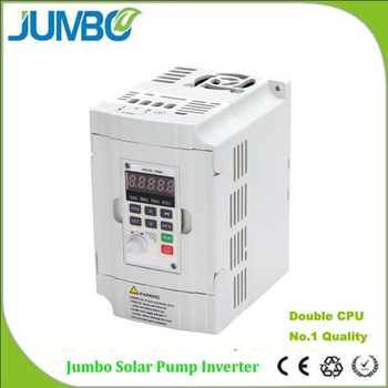 Jumbo New design 220V 380V 2 CPU solar pump inverter