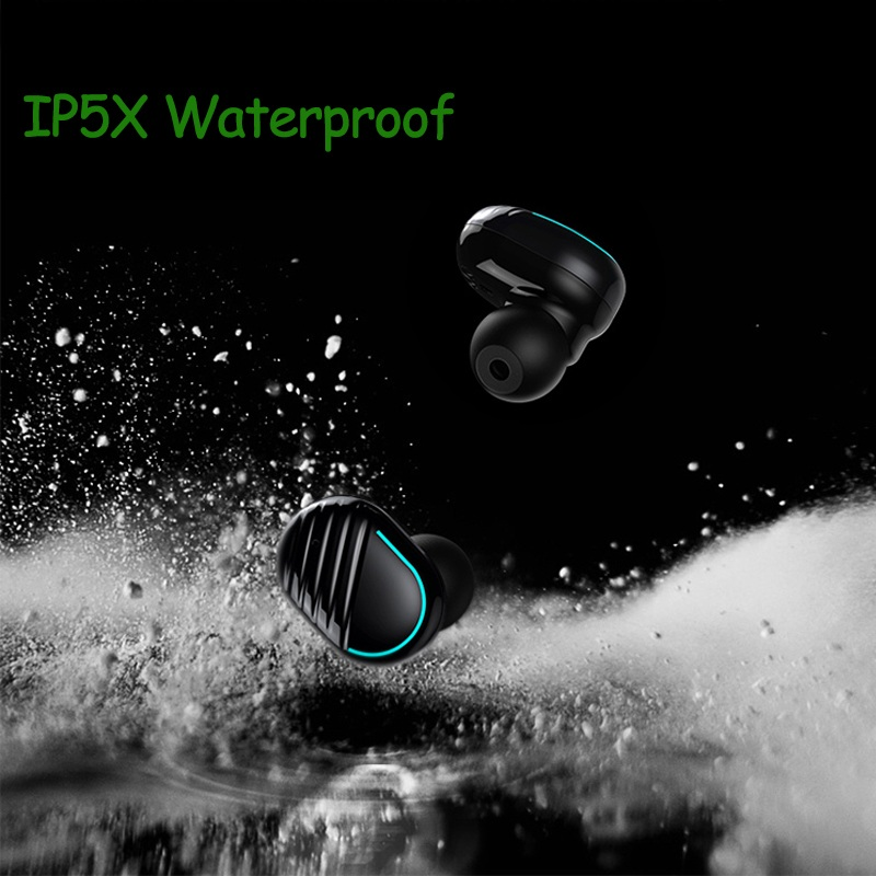 Cordless IPX5 Sweatproof Truly Wireless Earphone Earbuds for Cell Phones