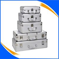 2013 hot selling aluminum storage cases with strong handle
