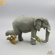 India Gifts Resin Decor Large Animal Sculptures Souvenir Figurine Elephant Statue