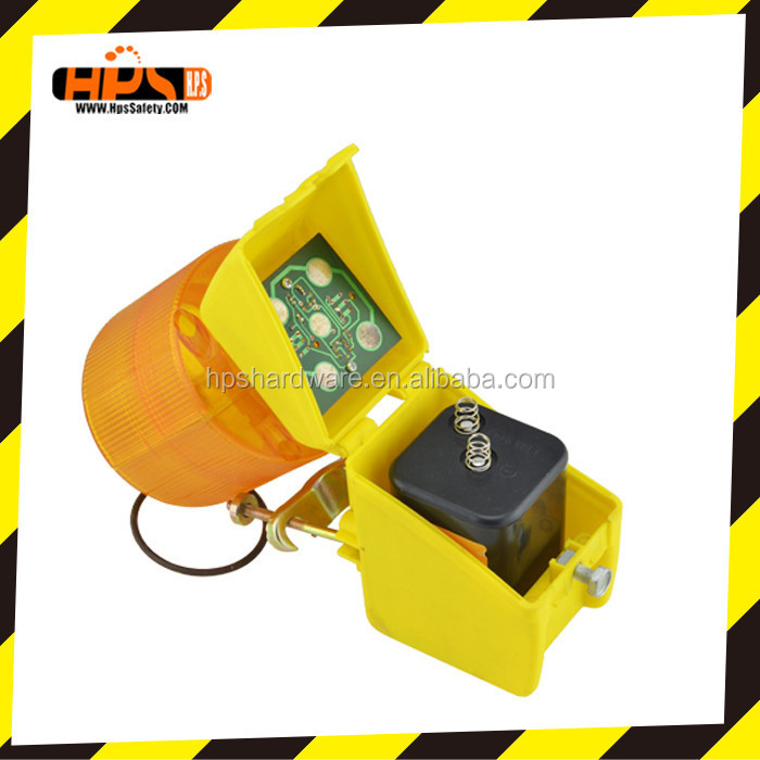 solar caution light/ solar powered Light/solar traffic warning lamp