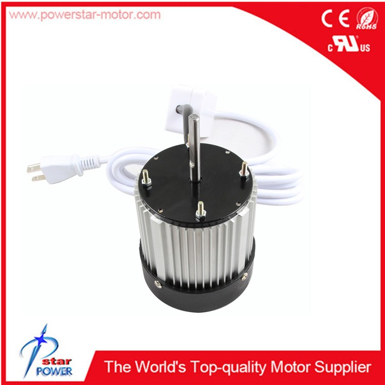 single-phase 115/208-230V (exhaust) fan/blower evaporator fan motors
