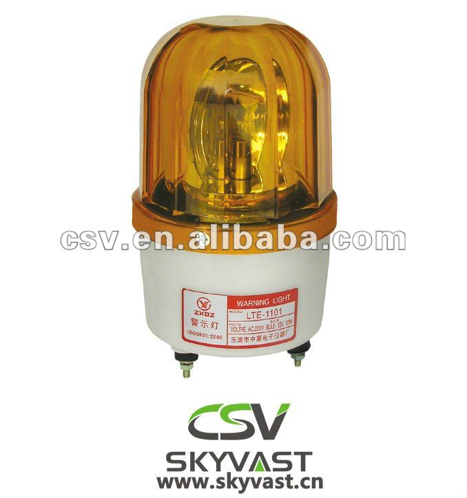 Amber LED flash warning light/aviation warning light