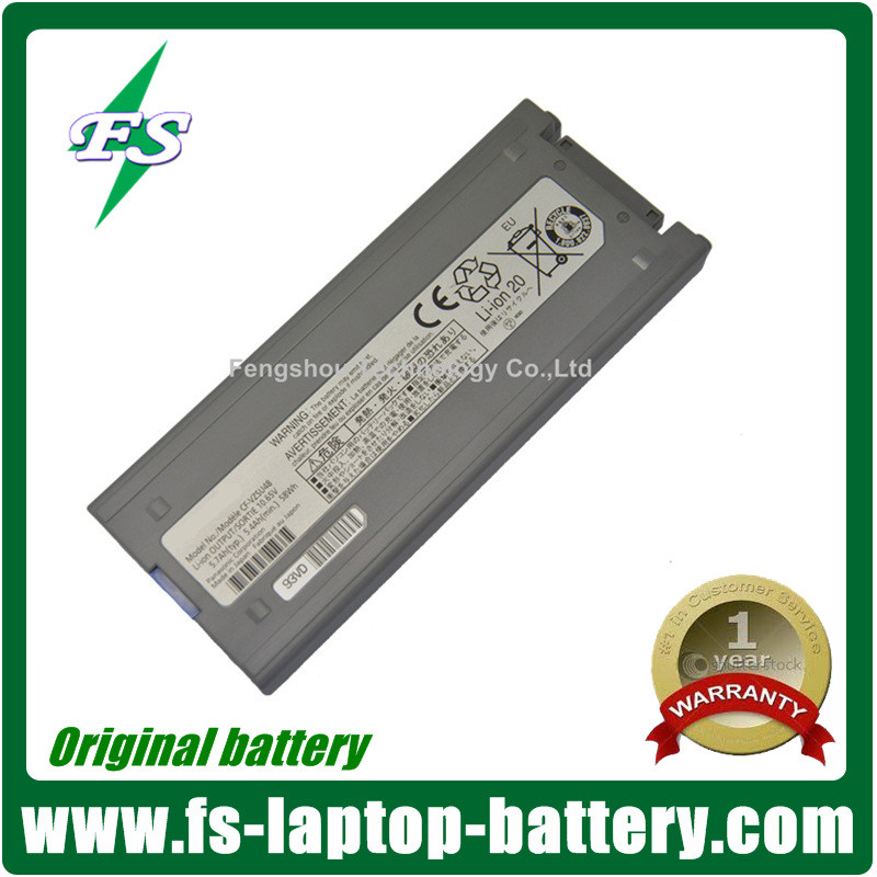Genuine laptop battery for Panasonic Toughbook CF-19 Notebook Batteries CF-VZSU48 10.65V 58Wh Tested
