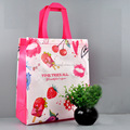 Cheap non woven bag lady shopping bag printed