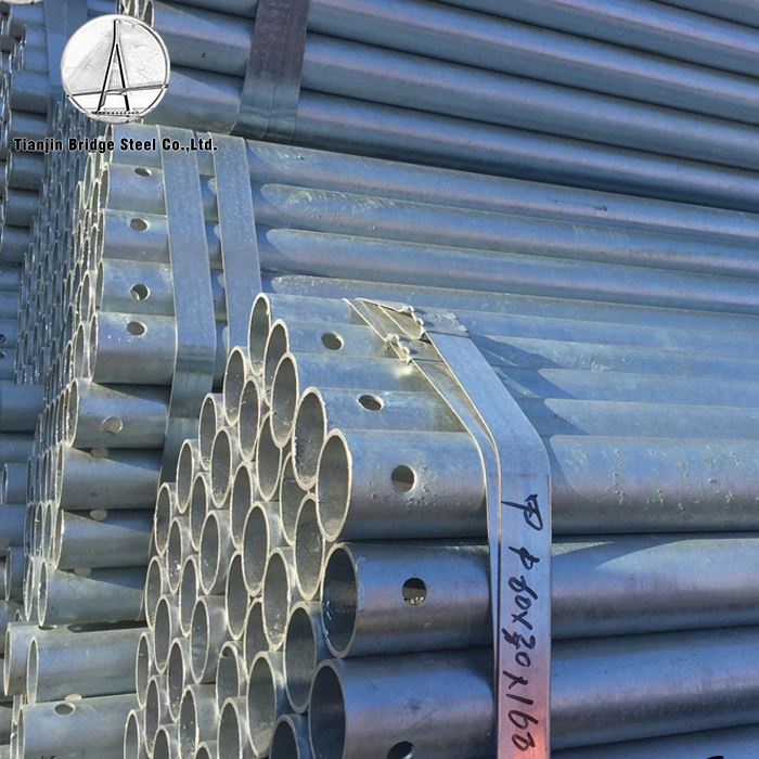 <strong>Q195</strong> Factory Direct Sale Carbon Erw Galvanized Steel Pipe Tube Price
