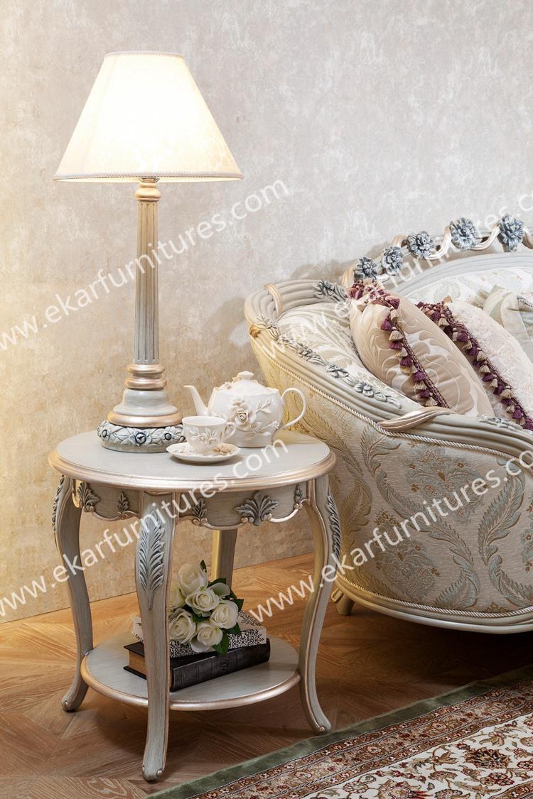 Houten klassieke stoffen zitbank ontwerp, woonkamer sofa-woonkamer ...