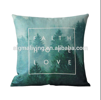 New fashion design decorative pillow cover