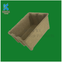 Eco friendly waste paper pulp craft boxes wholesale