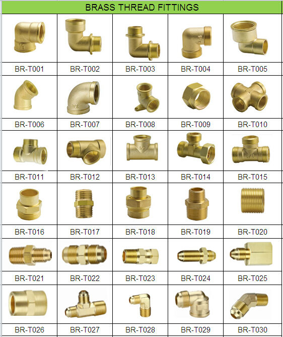 Degree brass male elbow compression fitting for pex al