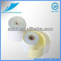 2-ply carbonless paper white/yellow