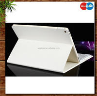 China factory cheap 2 in 1detacheable wireless bluetooth keyboard tablet case for iPad Pro 12.9 inch leather case -white