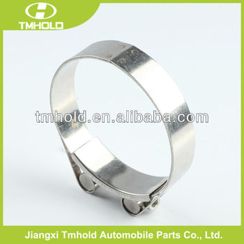 most strength O types assembly automotive stainless steel unitary clamp