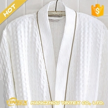 Best selling unisex queen/king size breathable nightwear ultra soft easy care comfortable cotton bathrobe forhotel/spa