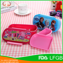 OEM Customized Food Grade PP material Bento Lunch Box Container For Kids