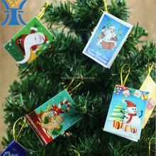 Aibaba China Wholesale Custom Pringting Fancy Small Wish Cards For Christmas Decoration