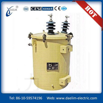 80kva 6kv pole mounted oil type distribution transformer