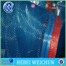 wrapped edge 1.8m x 30yard blue nylon net to Myanmar